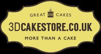 3D Cake Store Logo