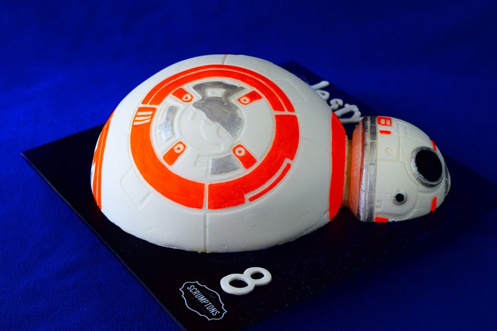 BB8 Droid Cake 2