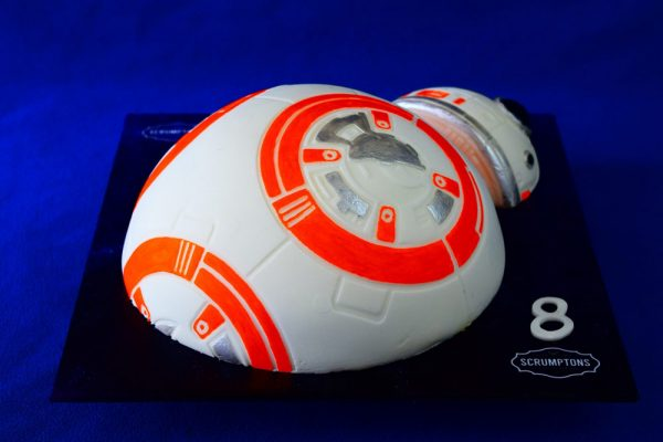 BB8 Droid Cake 3