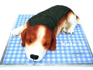 Beagle-Dog-Cake