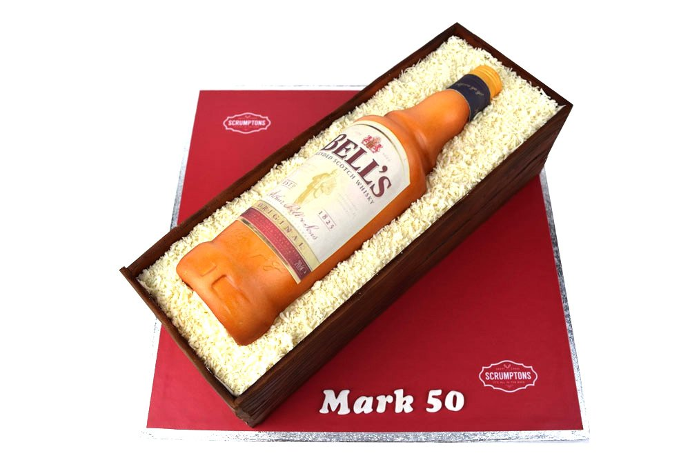 Bell's-Whisky-Bottle-Cake
