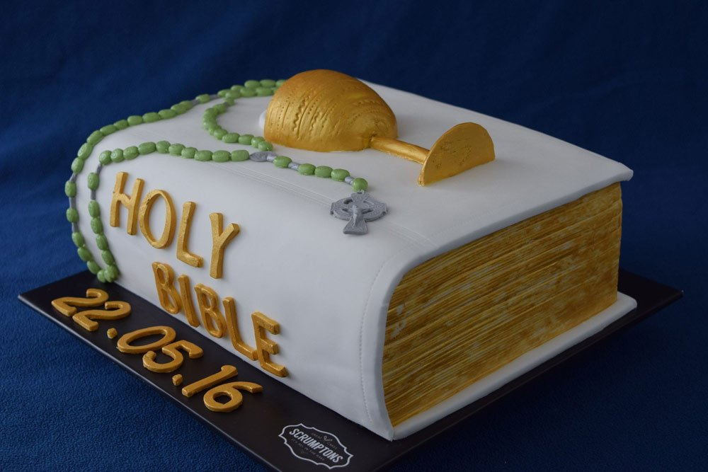 Remarkable Bible Cake 3D Printed Bible Cake 3D Cake Store Personalised Birthday Cards Paralily Jamesorg