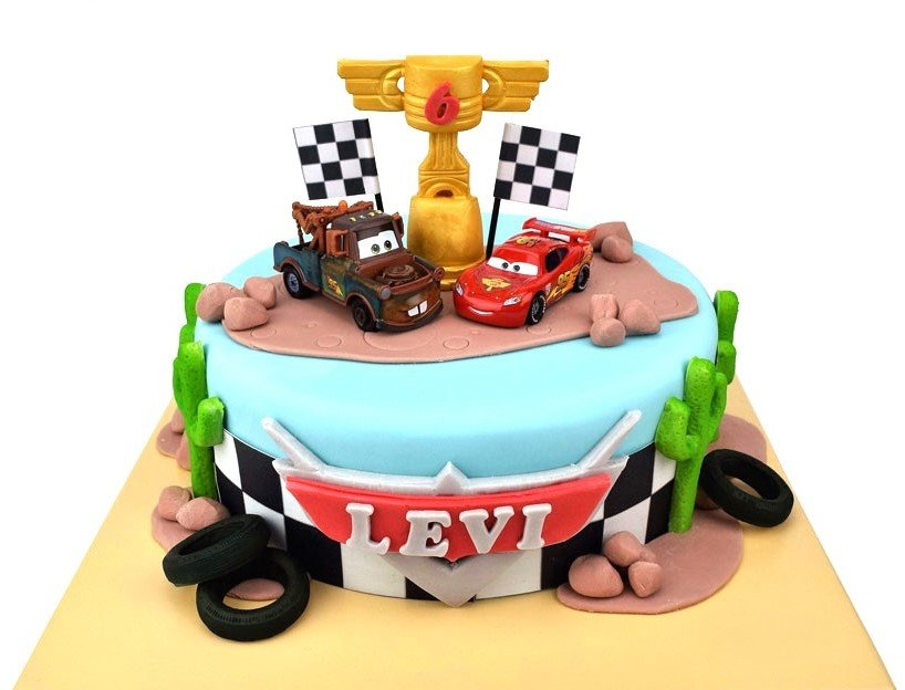 Admirable Disney Cars 3 Cake 3D Cake Store Funny Birthday Cards Online Alyptdamsfinfo