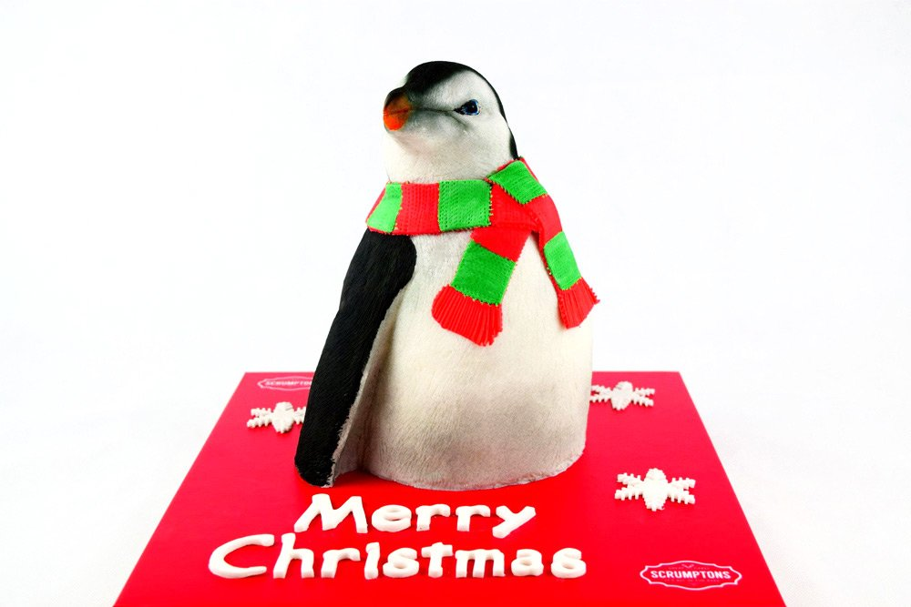 Christmas-Penguin-Cake