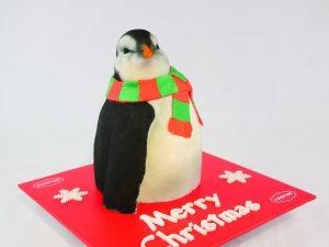 Christmas Penguin Cake 2