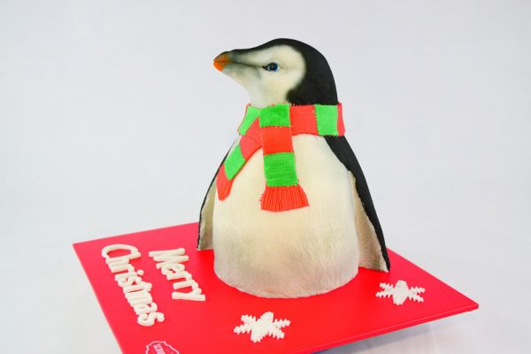 Christmas Penguin Cake 3