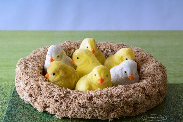 Easter Chicks Cake