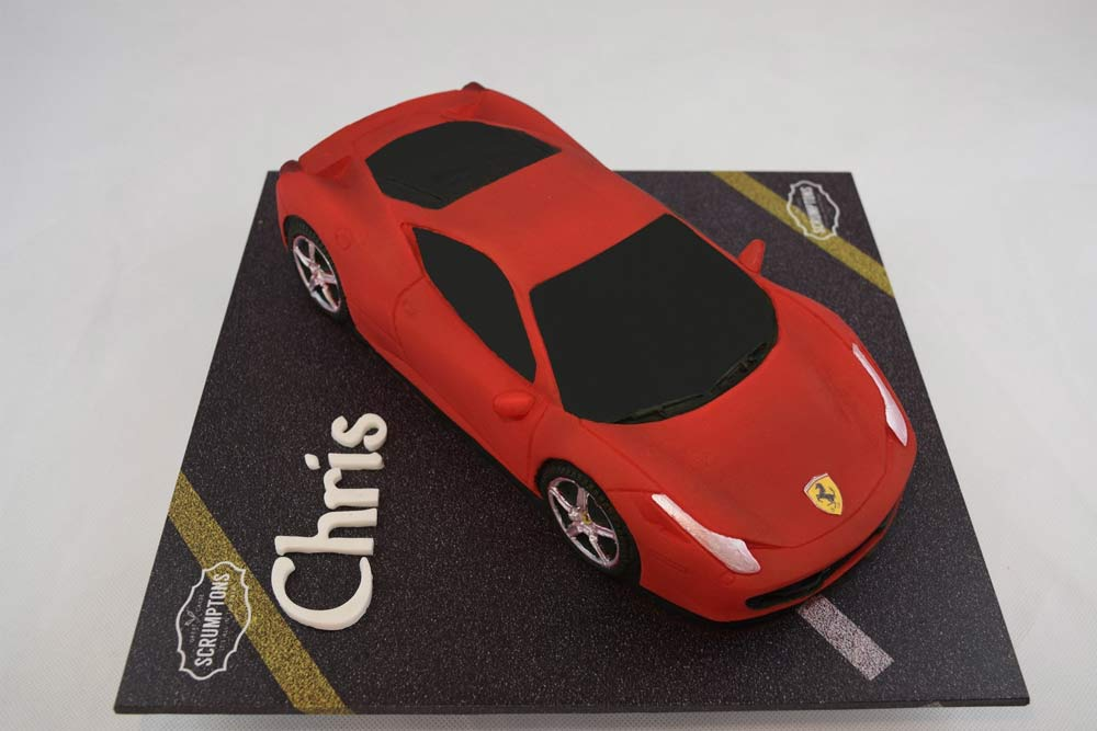 Ferrari 458 Car Cake 3d Cake Store