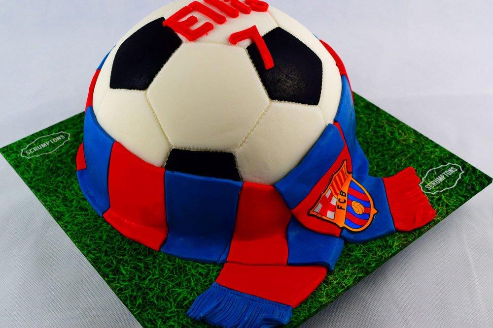 Football Team Cake 2