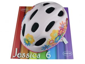 Girls-Bike-Helmet-Cake
