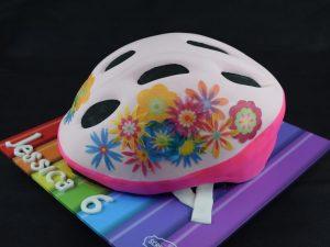 Girls Bike Helmet Cake 2