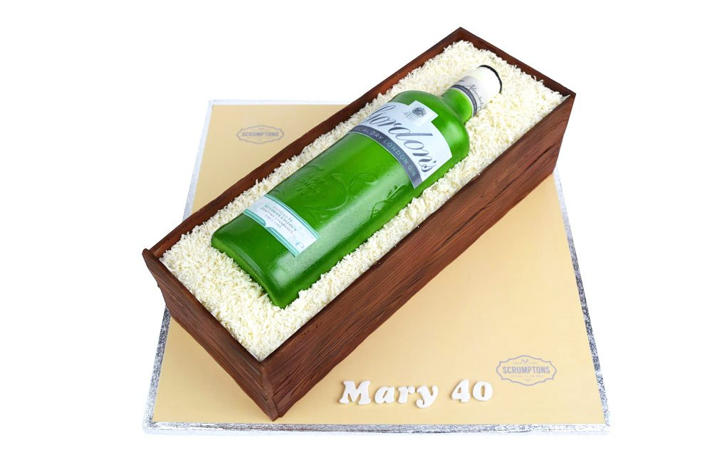 Gordon's-Gin-Bottle-Cake