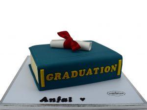 Graduation 3D Printed Cake