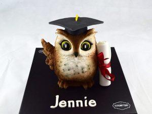 Graduation-owl-cake