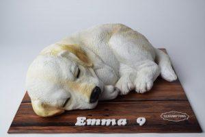 Labrador Puppy Dog Cake