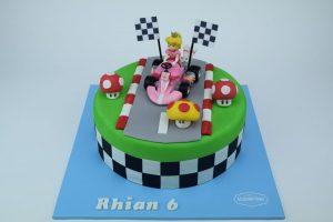 Mario kart Princess Peach Cake