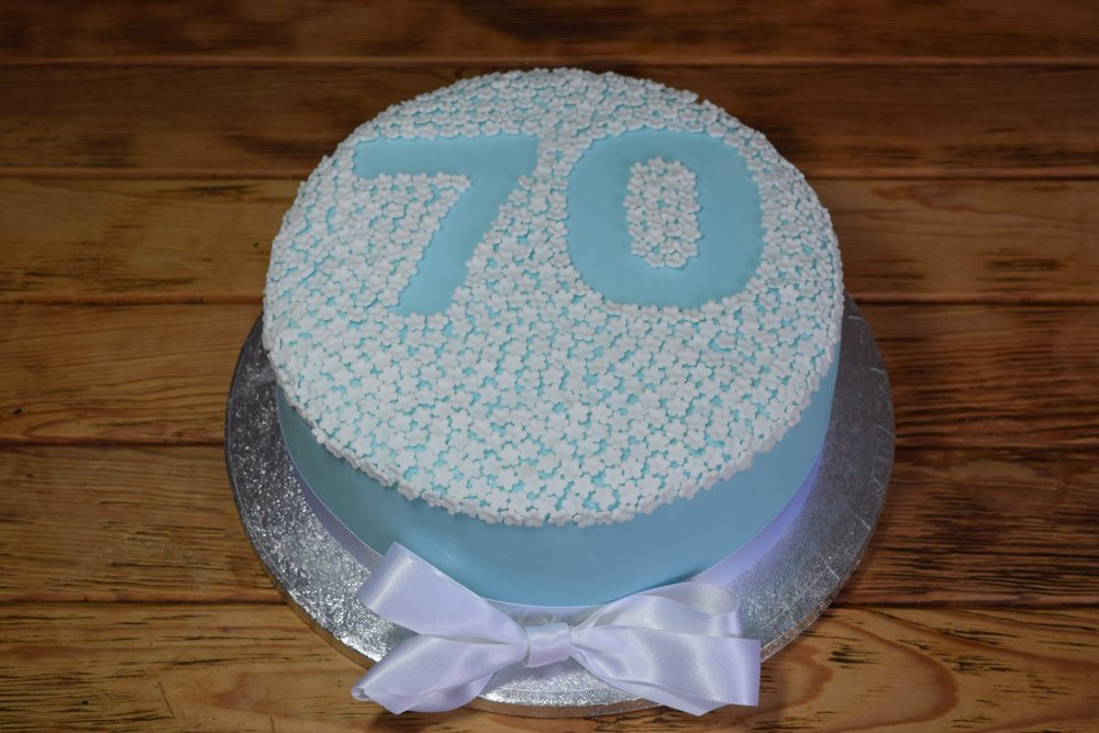 Number Blossom Cake