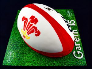 Rugby Ball Cake 2