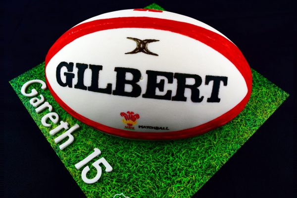 Rugby Ball Cake 3