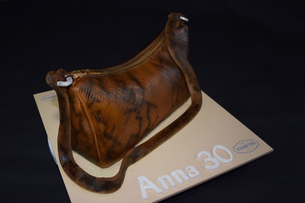 Snake Skin Handbag Cake 2