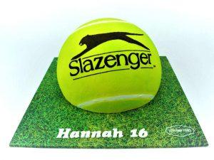Tennis-ball-Cake