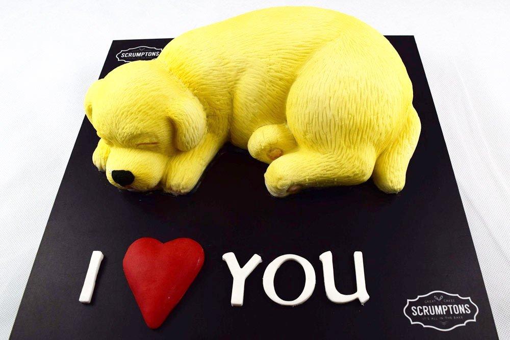 Valentines-Puppy-Cake