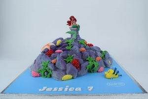 Disney Little Mermaid Cake