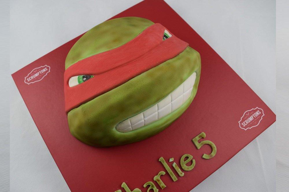 Ninja Turtles Cake 2