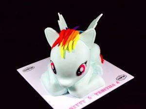 Rainbow Dash Cake 2