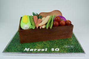 Vegetable Box Cake