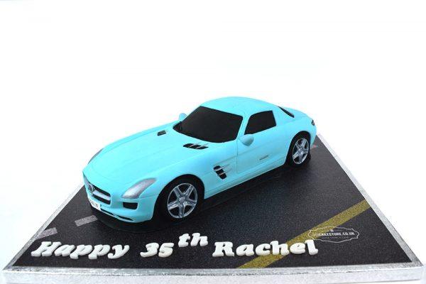 Mercedes Car Cake