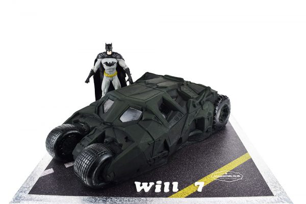Batman Batmobile Cake