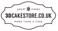 3D Cake Store Logo