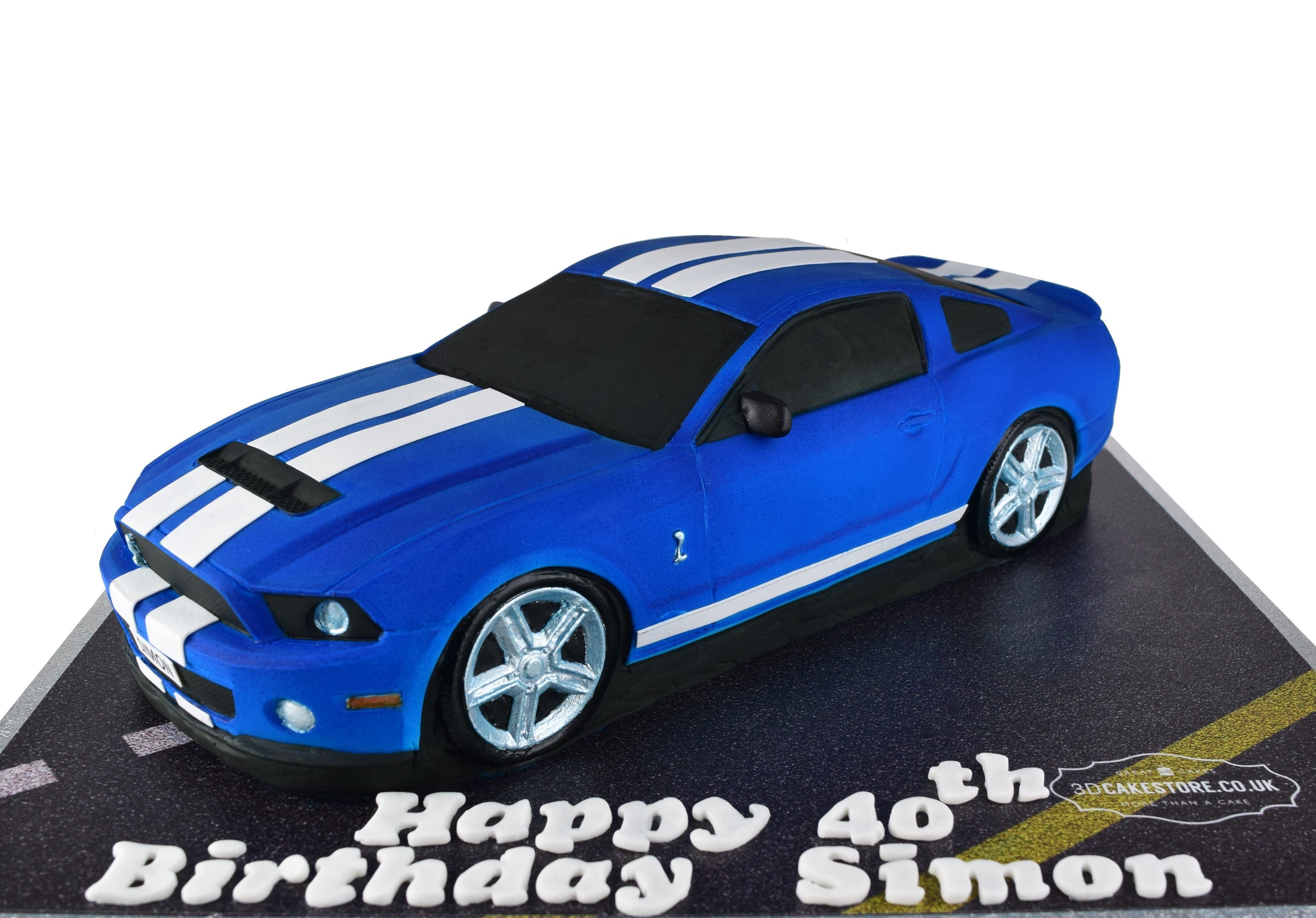 Ford Mustang Car Cake 3d Cake Store